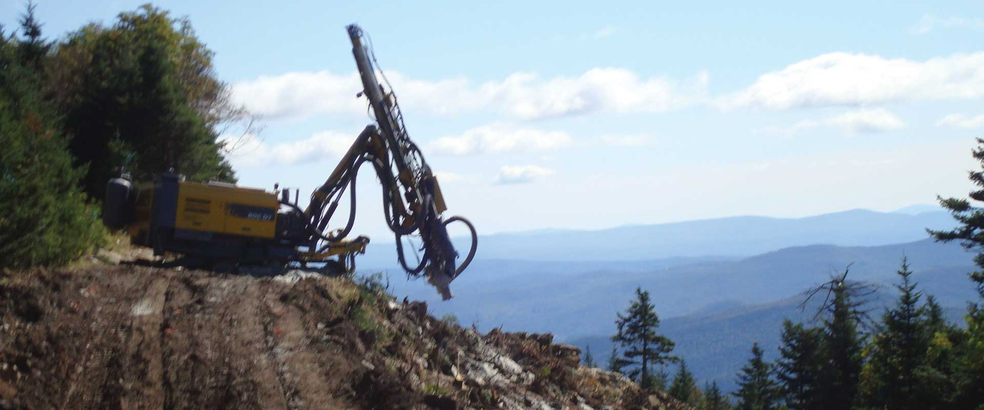 Skyeburst & Cruise Control Trail Construction - Killington Resort