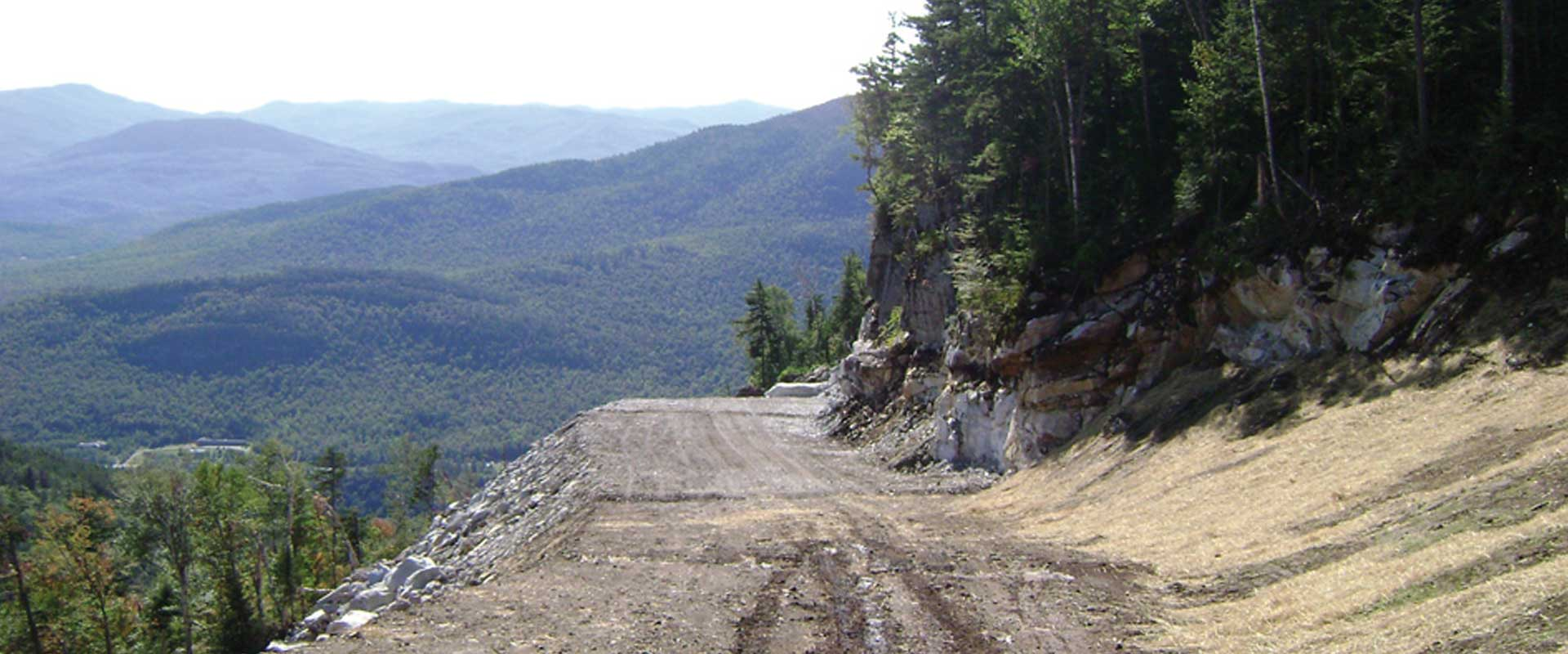 New Trail Construction - Whiteface Ski Resort