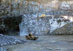 Drilling and Blasting Services for Quarries